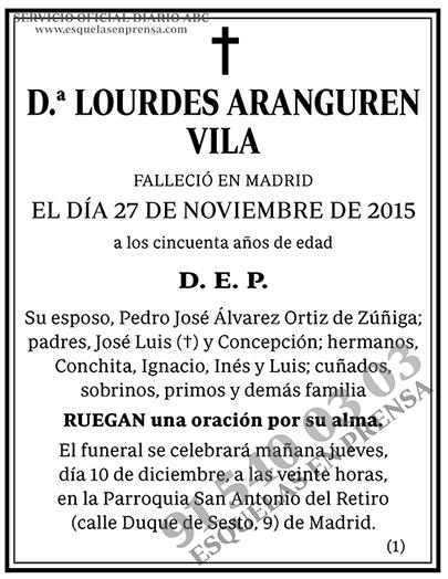 Lourdes Aranguren Vila